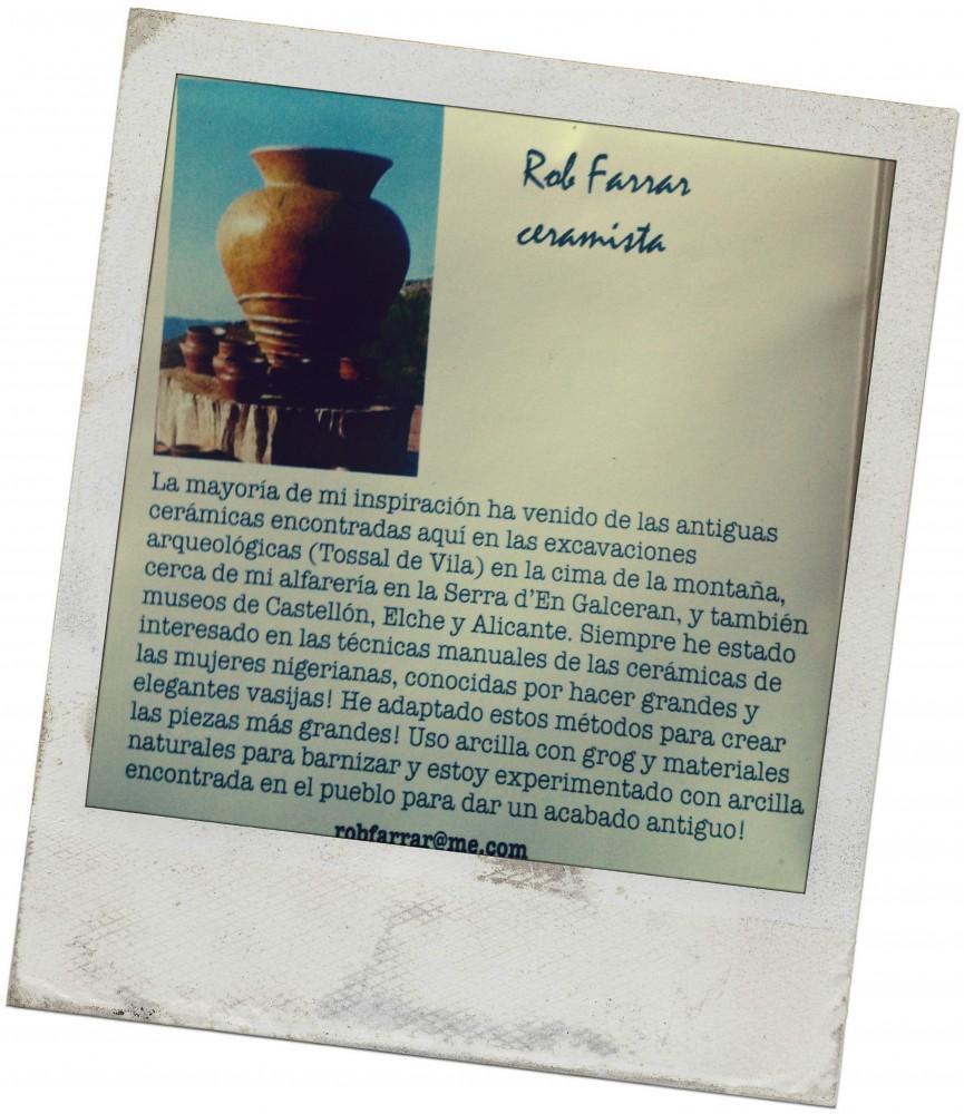 Rob Farrar, ceramista